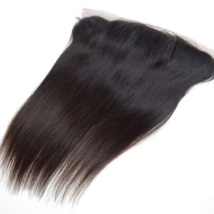 Brazilian Straight Hair Lace Frontal 13 By 5 Natural Color No Unprocessed