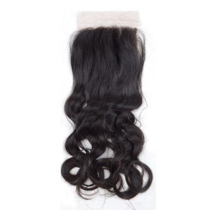 Loose hair closure bundle
