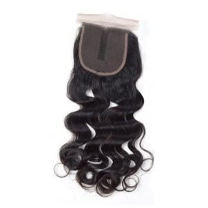 loose wave silk closure