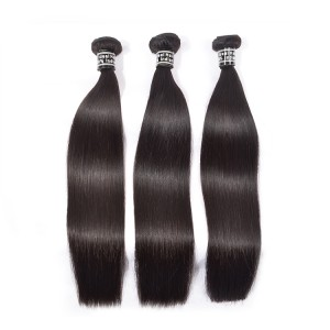 3 Bundles Ideal Natural Hair Sail Made In India,Indian Straight Virgin Hair ,Raw Virgin Human Hair From Very Young Girls Hair