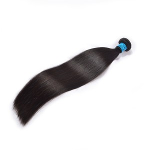 Double Drawn Virgin Human Hair,The Best Wholesale Virgin Hair Vendors,100% Human Hair 6A Brazilian Hair Straight Weft