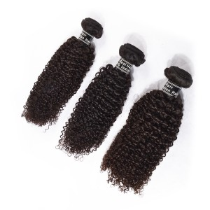 The 3 Bundles Wholesale Price Paypal Virgin Indian Hair Weave ,Kinky Curly Wave Shipping Within 24 Hours