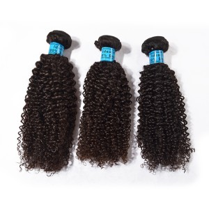 The Top Quality Human Hair,Kinky Curly Wave Hair  For 3 Bundles.