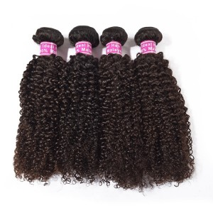 5 Bundles For Wholesale Natural Color, Top Quality Virgin Kinky Curly Hair