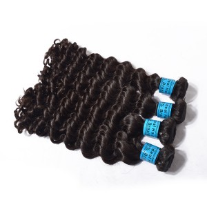 The Package For 5 Bundles,Top Selling Brazilian Hair Weft Deep Wave