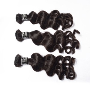 Best Selling Indian Hair Loose Wave Wholesale 100% Natural Remy Virgin Hair For 3 Bundles