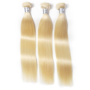 2018 Best Selling Blonde Hair Straight The European 613 Hair For 3 Bundles