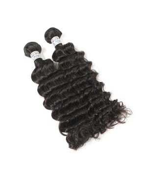 Mink Brazilian Hair Deep Wave Natural Color 6A Grade Human Hair Extention New Products