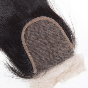 three part straight virgin hair
