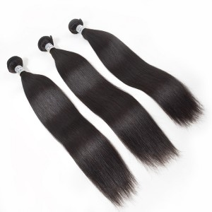 100 Unprocessed Mink Straight Cambodian Human Hair For 3 Bundles