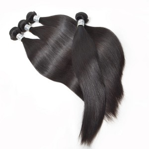 Unprocessed Top Quality Mink Hair No Tangle No Shedding 100% Virgin Straight Hair for 5 Bundles