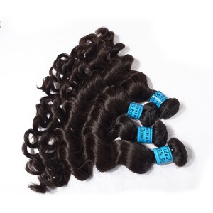 The Best Virgin Hair With 5 Bundles Hair Weft For The Brazilian Hair,Loose Wave Hair